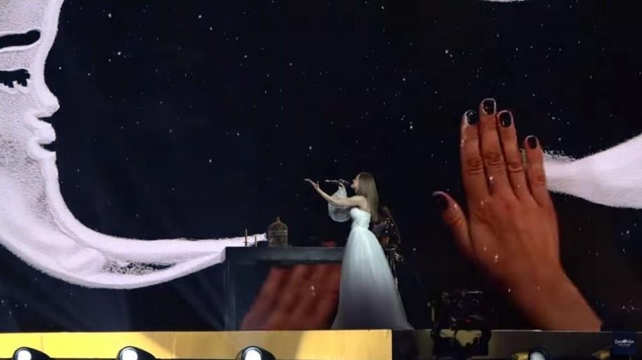 (video) Vezi prestația Annei Odobescu în a doua semifinală a concursului Eurovision 2019