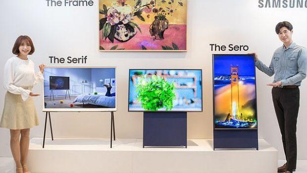 (video) Televizor perfect pentru cei care iubesc să navigheze pe Facebook sau Instagram. Samsung a lansat primul televizor vertical din lume