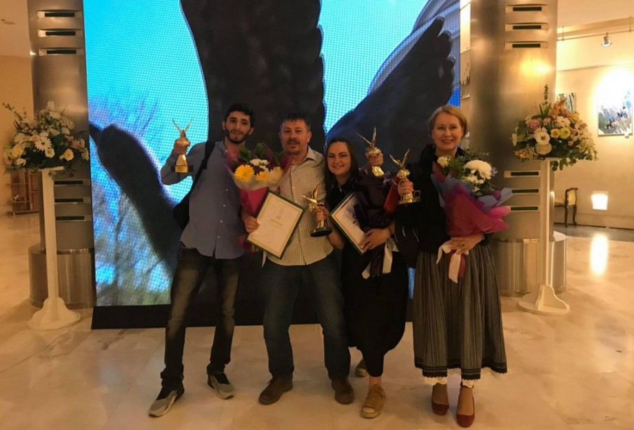 """Regizorul moldovean, Dumitru Grosei, a câștigat trofeul """"Gagara de Aur"""" pentru filmul """"Reîntoarcerea"""""""