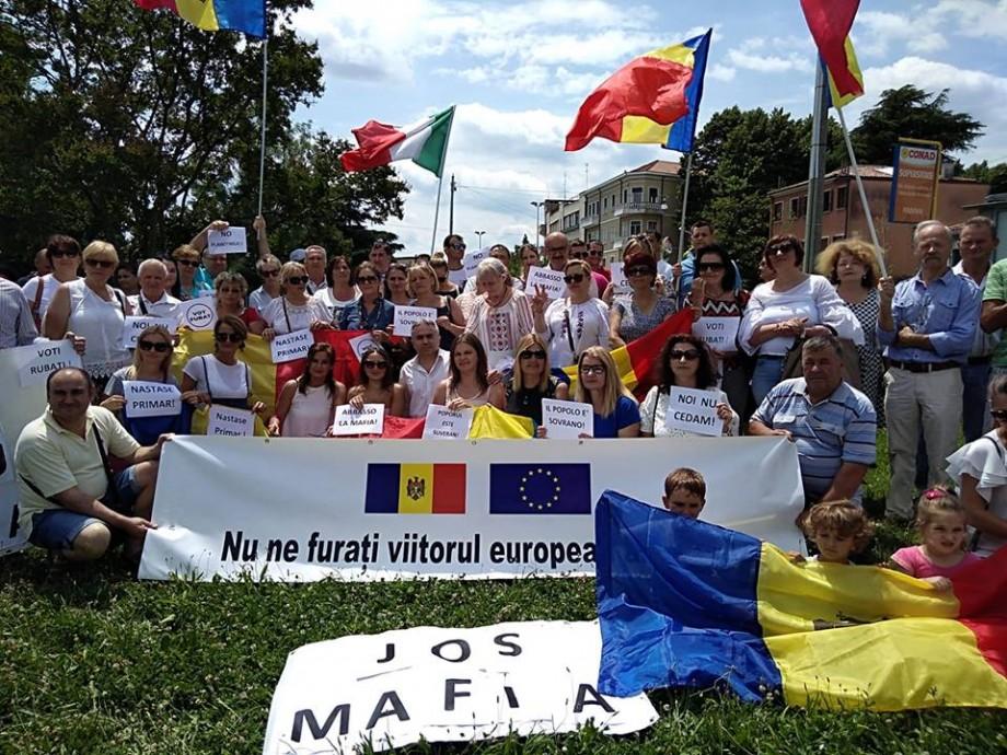 Diaspora din Italia va organiza un Flashmob în susținerea noului Guvern. Când și unde va avea loc