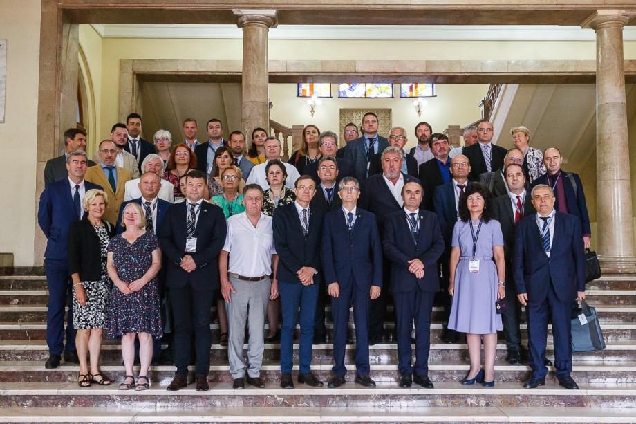 Rectorul Universității de Stat din Moldova a participat la Reuniunea Consorțiului Universitaria, la Iași