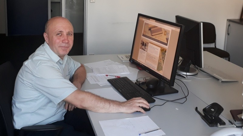 Un profesor de la UTM efectuează o vizită de cercetare la Institutul Ferdinand Braun din Berlin