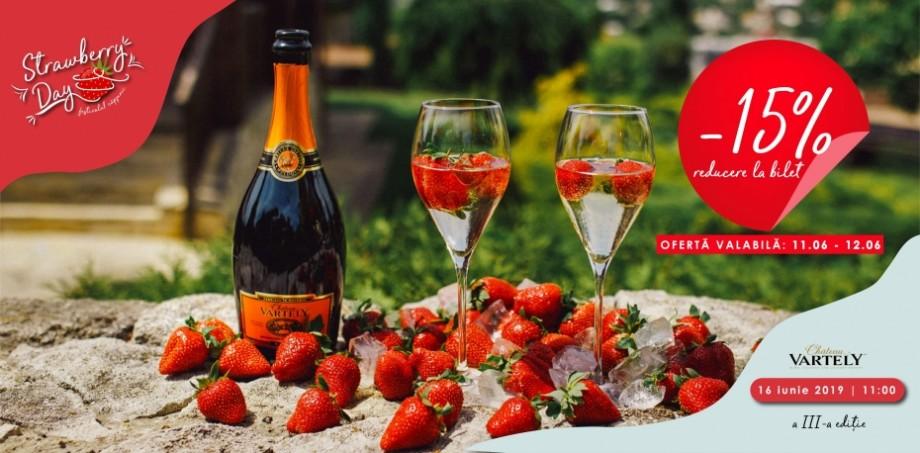 Pe 11 și 12 iunie, aveți reducere de 15% la toate biletele pentru cel mai așteptat eveniment al verii, Strawberry Day