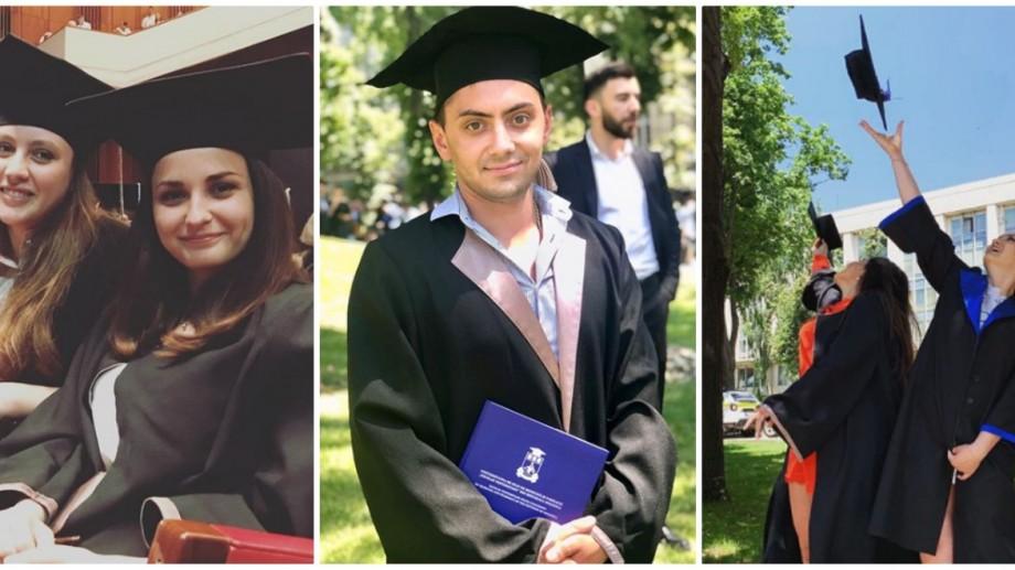 """(foto) """"Jur pe Apollo medicul…"""". Cum se vede pe Instagram jurământul absolvenților de la USMF"""
