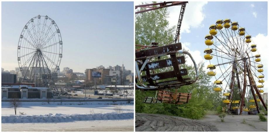 Nu au observat vreo diferență. Mai mulți turiști chinezi au fost mințiți și duși la Celeabisnk, în loc de Cernobîl