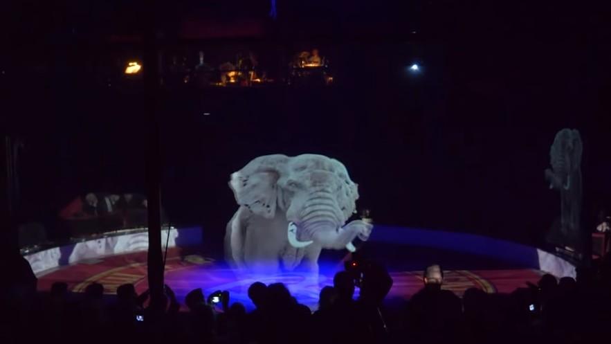 (video) Un circ din Germania a înlocuit animalele cu holograme pentru a pune capăt abuzului față de acestea