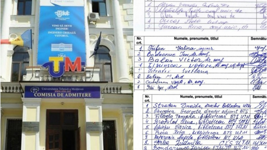(doc) Peste o sută de profesori de la UTM susțin Guvernul Maiei Sandu. Aceștia au semnat o declarație