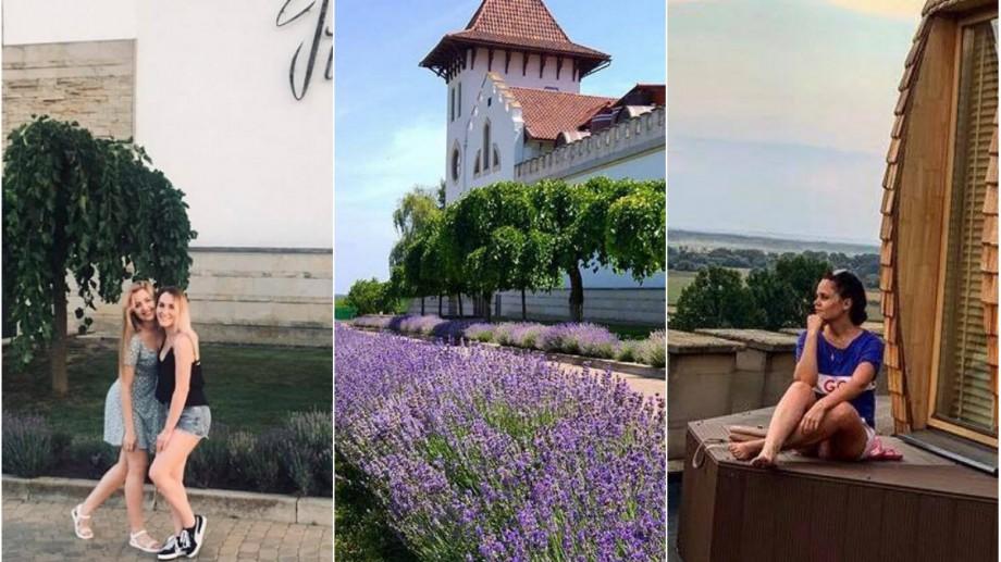 (foto) Moldova, văzută prin filtrele de pe Instagram. Vinăria Purcari – locul care ademenește prin culori, vin și rafinament
