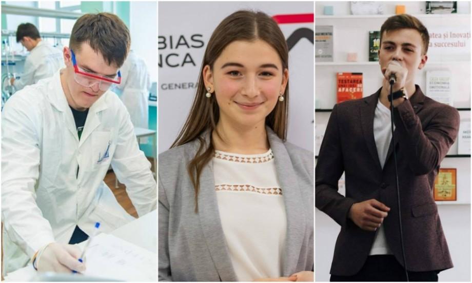 """Cei mai buni liceeni din municipiul Chișinău au fost premiați în cadrul galei """"Absolventul anului 2019"""". Cine sunt aceștia"""