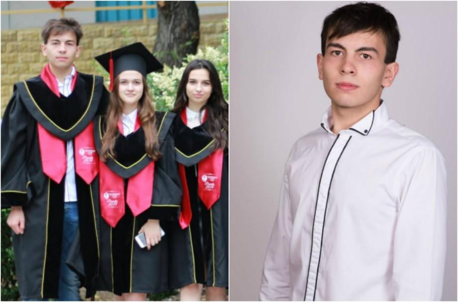 """(foto) Rezultatele la BAC: """"Expectation versus reality"""". Experiența lui Cvintilian Roșca, un elev cu 10 pe linie la examene"""