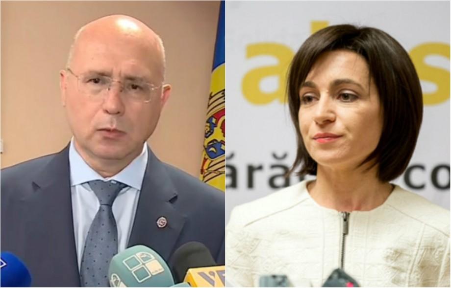 (foto) Maia Sandu versus Pavel Filip. Cum poți vota online Guvernul pe care îl susții