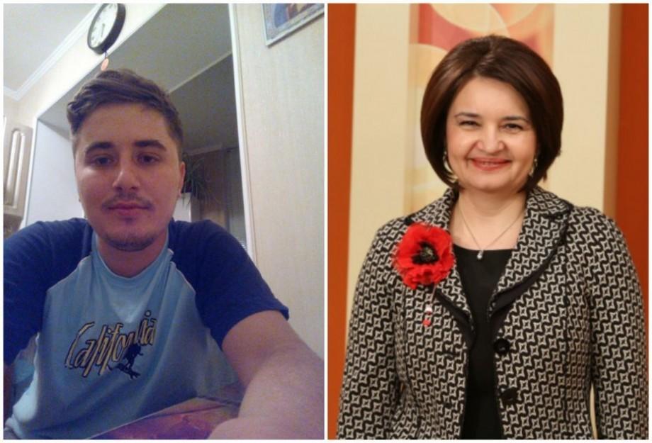 """""""La revedere, Monica Babuc!"""". Scrisoare de adio adresate ex-ministrei a educației din partea profesorului Vasili Tataru"""