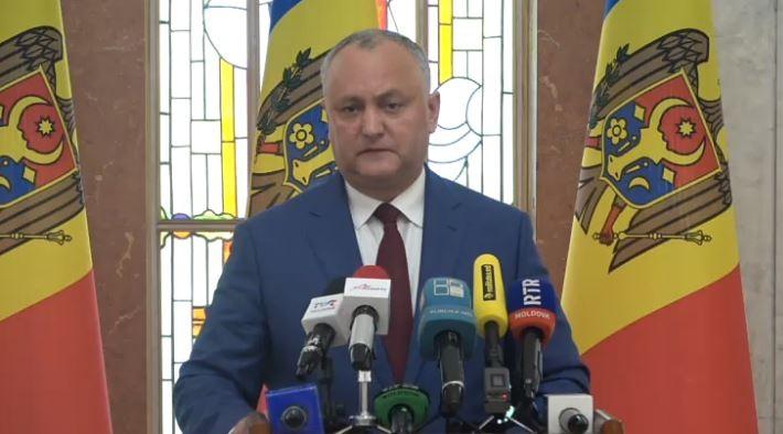 Dodon susține că Procuratura va cere în curând ridicarea imunității mai multor deputați