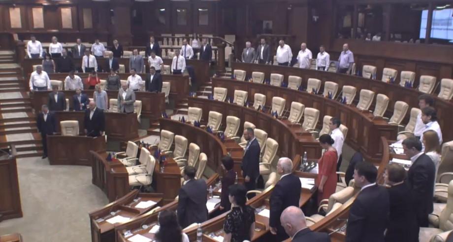 Primul val de deportări, comemorat printr-un moment de reculegere în Parlament
