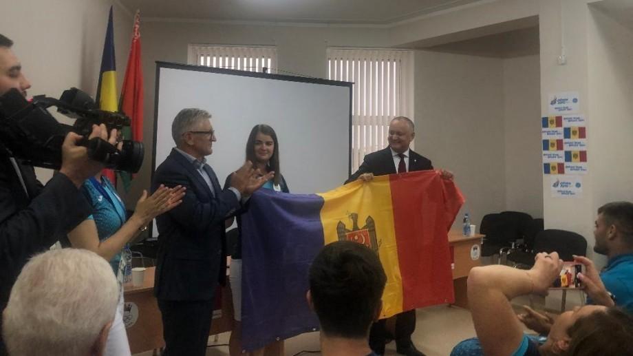 Cine este tânără care va fi portdrapelul Moldovei la ceremonia de deschidere a Jocurilor Europene de la Minsk