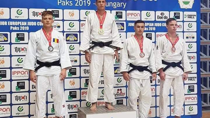 Judocanul Petru Pelivan a luat aurul la campionatul European de tineret din Ungaria