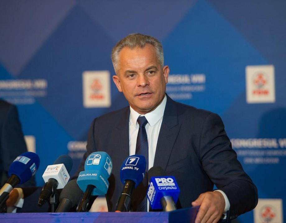Vladimir Plahotniuc a demisionat din funcția de președinte al PD