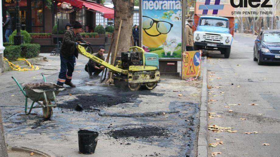 Atenție! Traficul rutier de pe strada Dumitru Râșcanu, sectorul Râșcani, va fi suspendat timp de o lună
