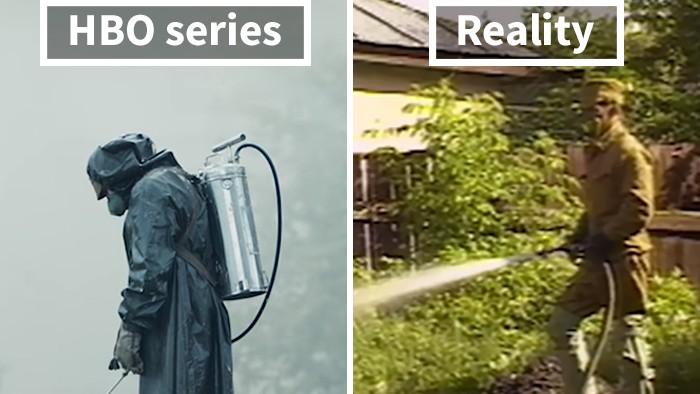 (foto) Realitate vs Film. 20 de fotografii care îți arată cum s-au desfășurat într-adevăr evenimentele de la Cernobîl