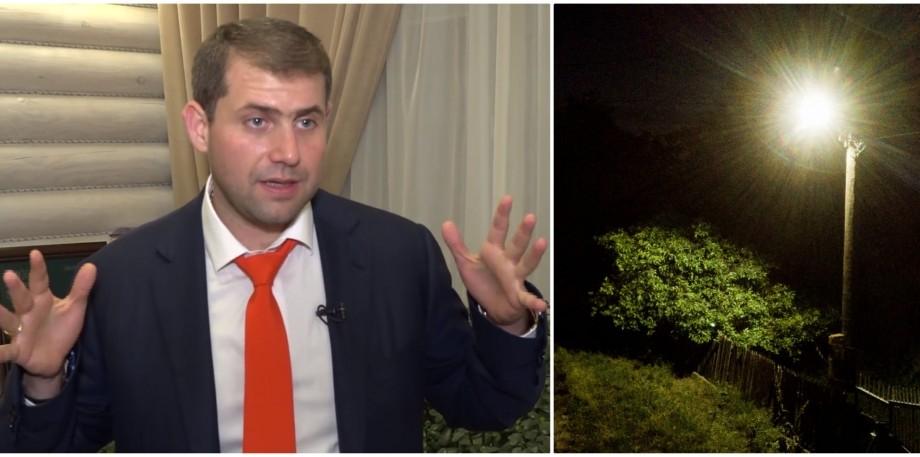 În timp ce țara e în beznă politică, Ilan Șor a mai iluminat o localitate din circumscripțiile sale