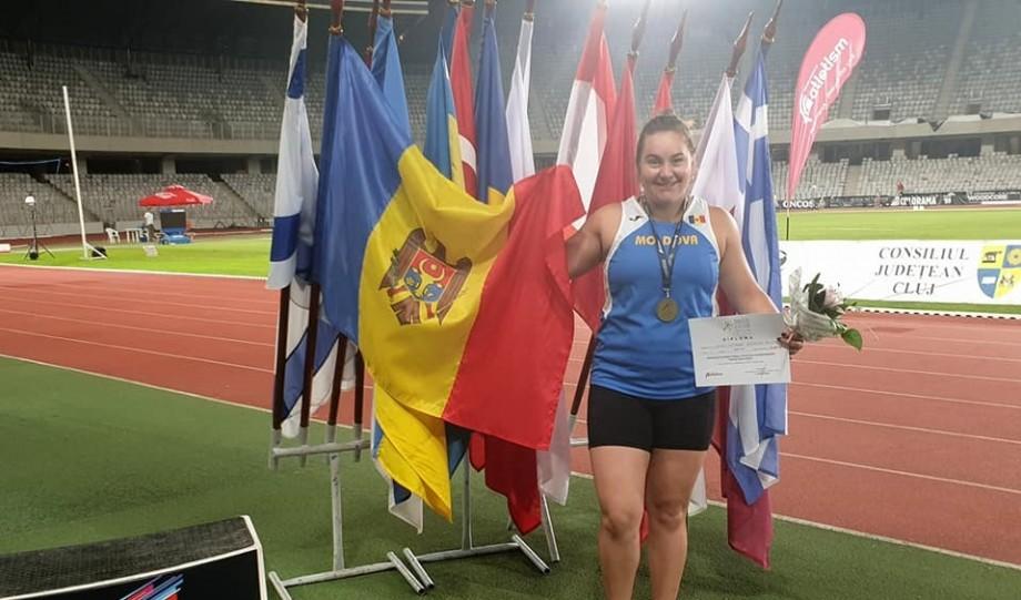 Sportiva din Moldova, Dimitriana Surdu, s-a calificat la Jocurile Olimpice de la Tokyo din 2020