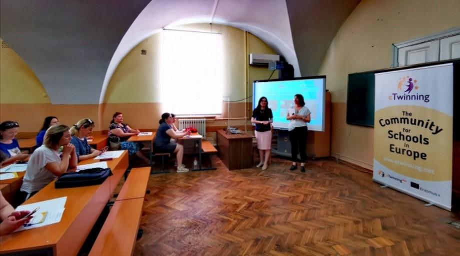 (foto) La Universitatea Tehnică a Moldovei a avut loc seminarul de inițiere în eTwinning