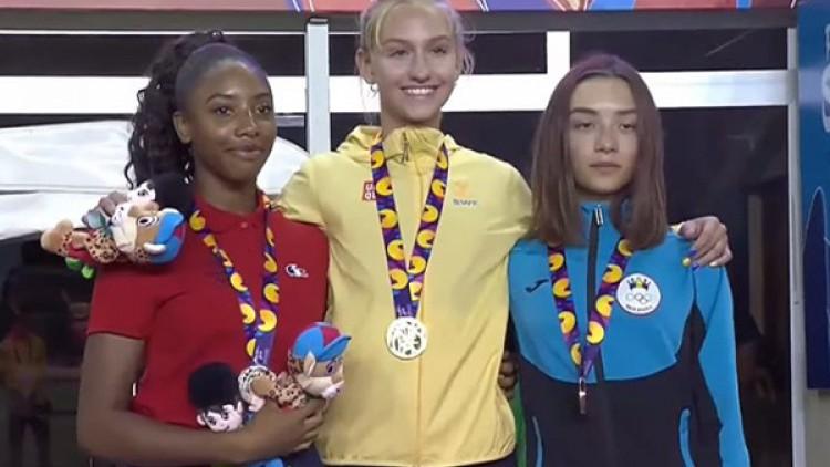 Atleta Iuliana Dabija a obținut medalia de bronz la Festivalul Olimpic al Tineretului European