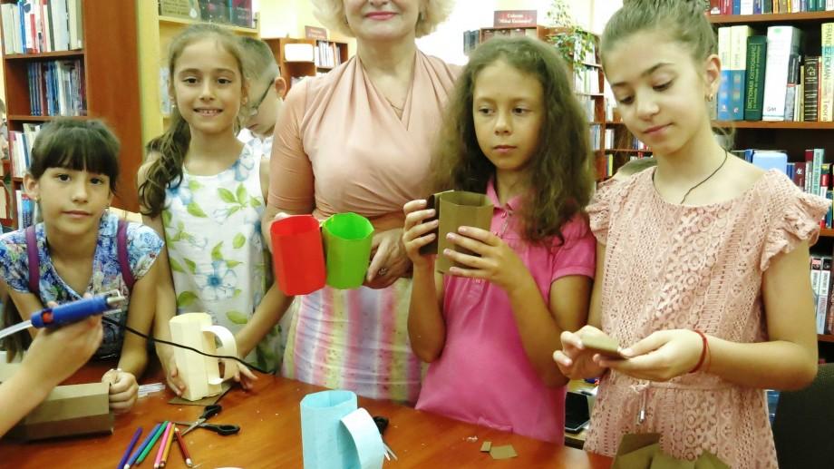 """(foto) Provocarea verii. Copii pot participa la programul educativ-cultural la Biblioteca Municipală """"B.P. Hasdeu"""""""
