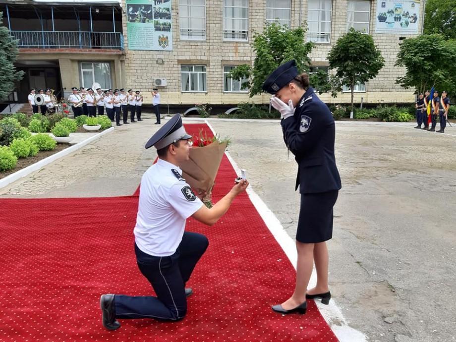 """(foto) A spus """"DA"""" chiar în timpul ceremonii de absolvire a Centrului de Excelență în Securitatea Frontieră"""