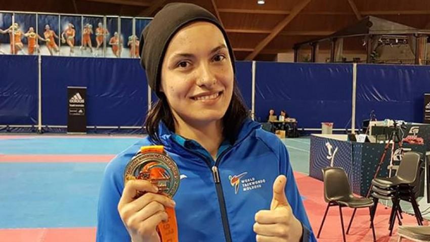Luptătoarea de taekwondo, Ana Ciuchitu, a cucerit medalia de bronz la Universiada Mondială
