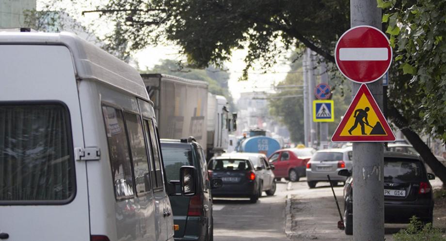 Atenție! Traficul rutier pe strada N. Testemițanu din Capitală va suspendat timp de o lună de zile