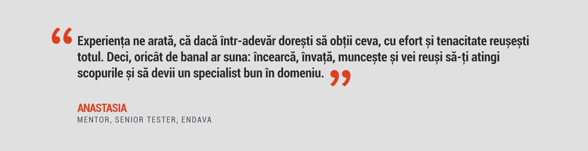 Anastasia Casapu Quote