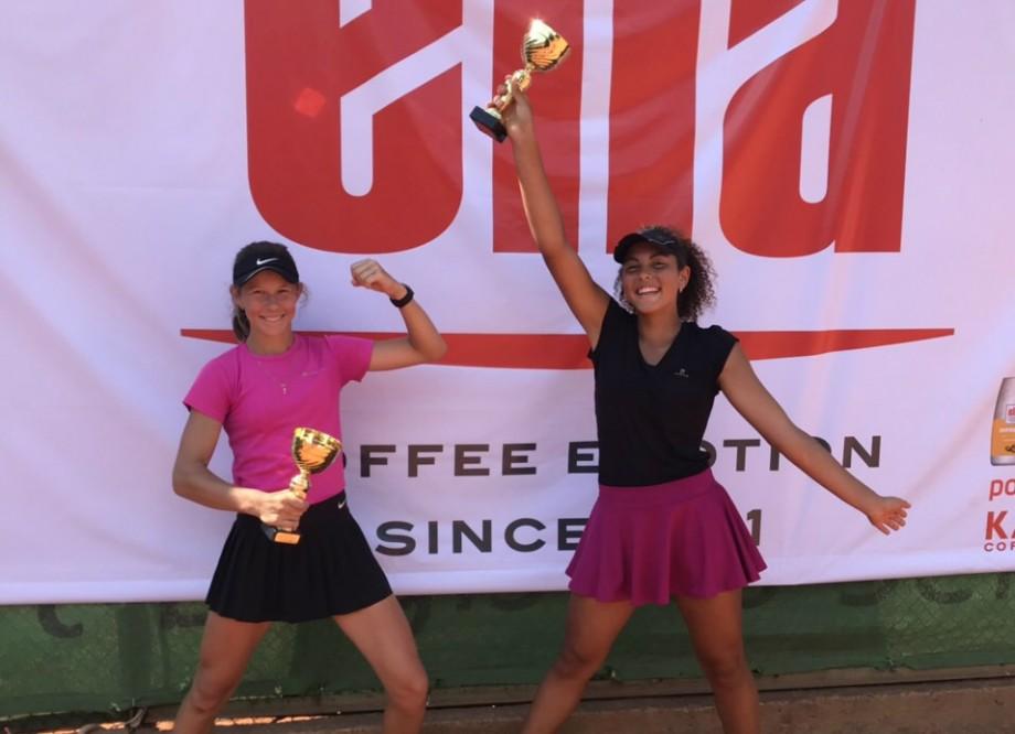 Jucătoarea de tenis din Moldova, Aliya Abbas, a câștigat turneul european Elia Cup 2019 la dublu