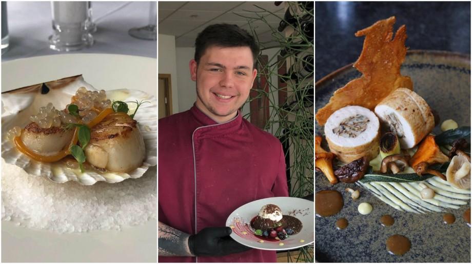 """(foto) """"Îmi place să creez propriile rețete"""". Află povestea lui Igor Gruia, tânărul moldovean care a ajuns bucătar-șef într-un restaurant din Germania"""