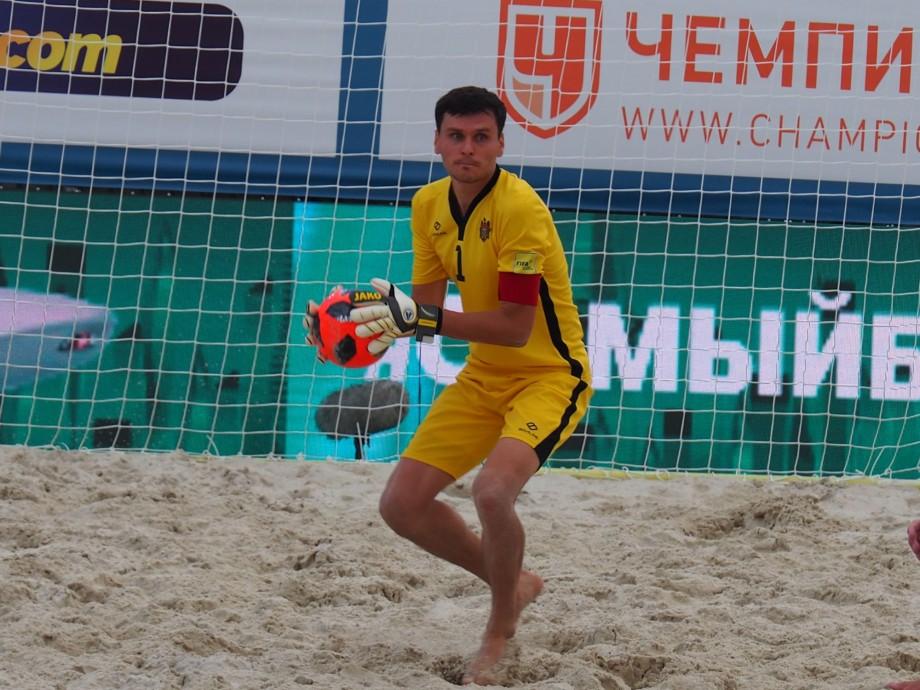 Naționala Moldovei de fotbal pe plajă s-a calificat în următoarea etapă a Campionatului Mondial