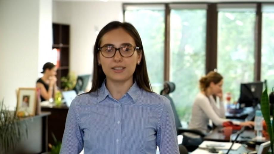 """Aurelia Bradețchi: """"UTM mi-a oferit o bază teoretică bună, pentru a deveni un specialist bun"""""""