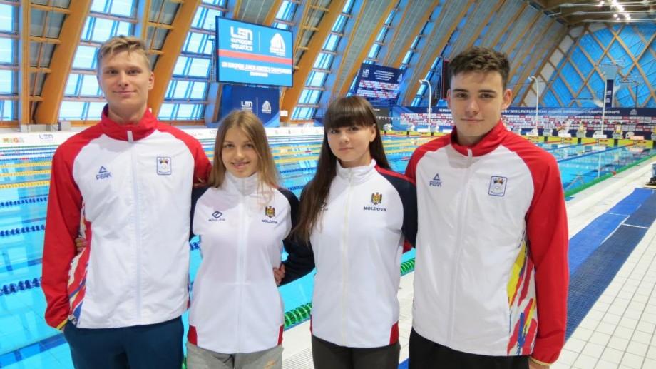 Înotătoarea din Moldova, Anastasia Basisto, a stabilit un nou record  la Campionatul European de tineret