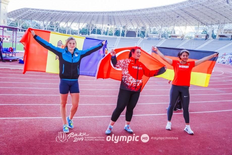 Cinci medalii pentru Moldova la Festivalul Olimpic al Tineretului European. Cine sunt sportivii care au urcat pe podium