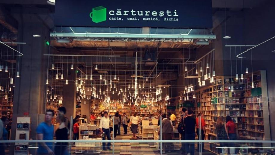 Lanțul librăriilor Cărturești va deschide un magazin la Shopping MallDova din Chişinău