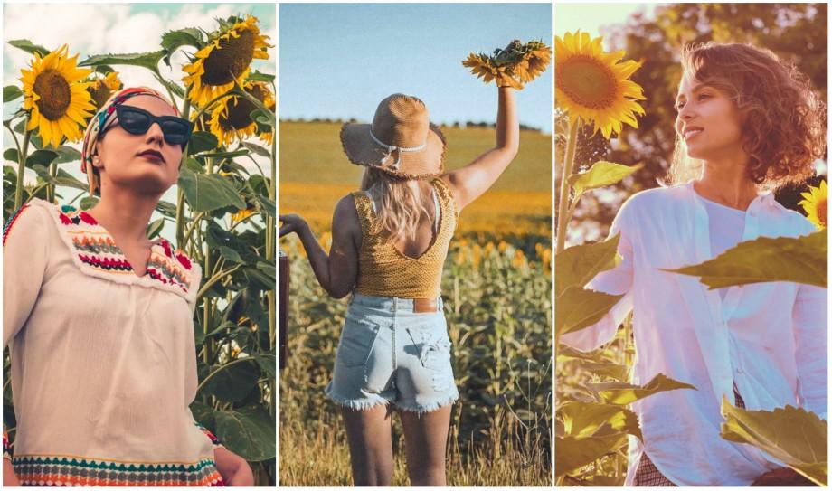 (foto) Internauții au migrat în lanurile de floarea-soarelui. Cum arată explozia de galben pe rețelele de socializare