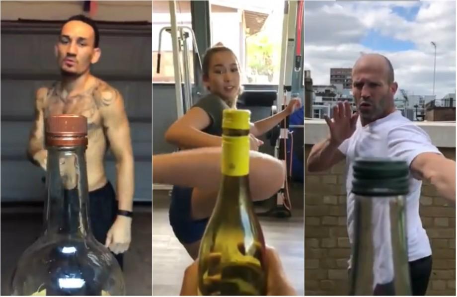 """(video) Un nou challenge devine tot mai popular în întreaga lume. Acesta a fost """"inventat"""" de un luptător UFC"""