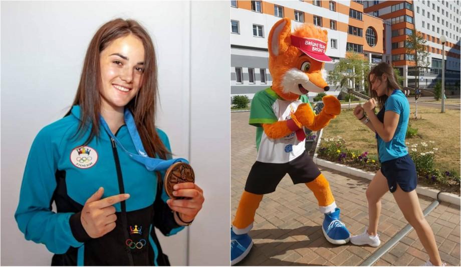 (video) #Sportul meu există. Paulina Eșanu despre câtă muncă a depus pentru a cuceri medalia de bronz la Jocurile Europene de la Minsk