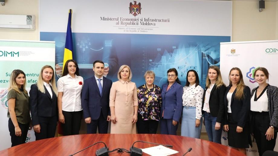 Întreprinderile mai multor femei vor primi investiții din partea Uniunii Europene în valoare de peste 11 milioane de lei