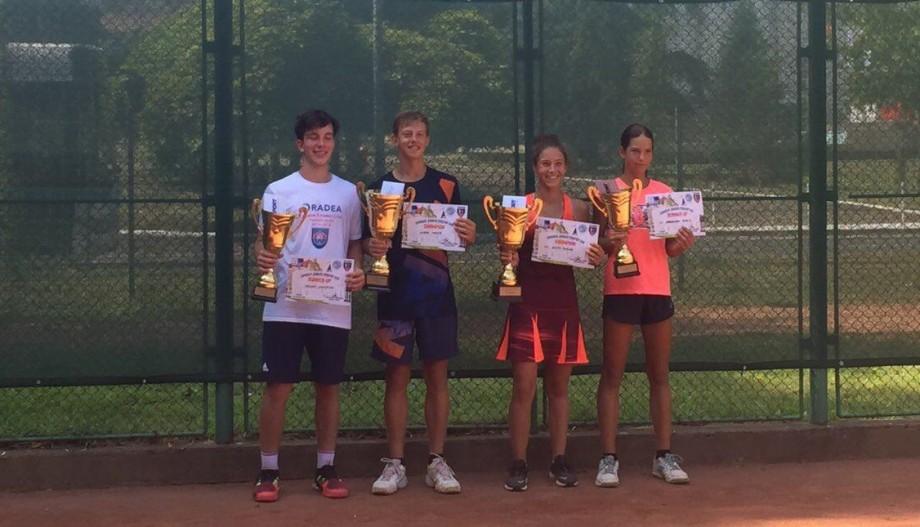 Tenismenul moldovean, Maxim Cazac, a câștigat proba de simplu a turneului european Oradea Junior Trophy