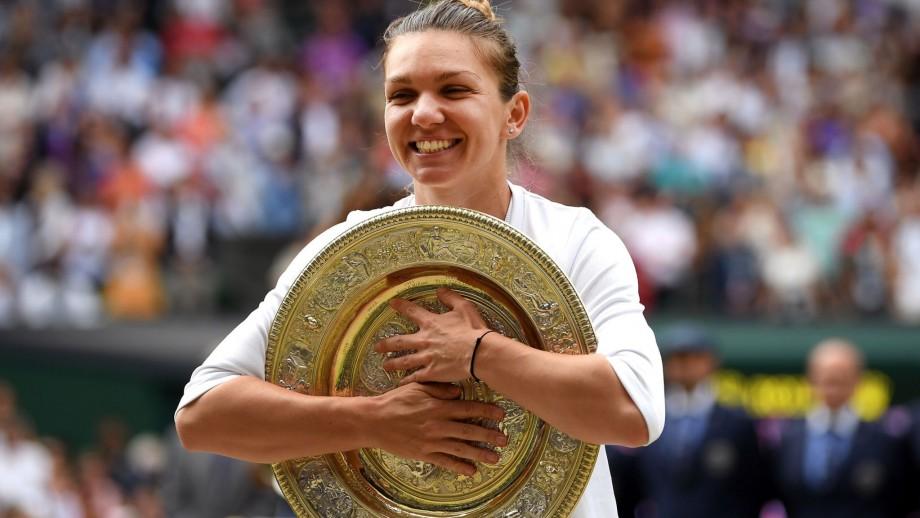 Câți bani va câștiga Simona Halep după triumful de la Wimbledon de la sponsorul tehnic, Nike
