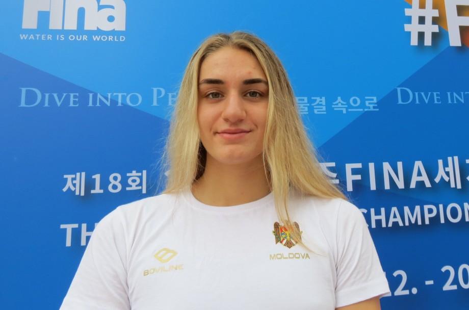 Înotătoarea Tatiana Salcuțan s-a calificat la Jocurile Olimpice de la Tokyo