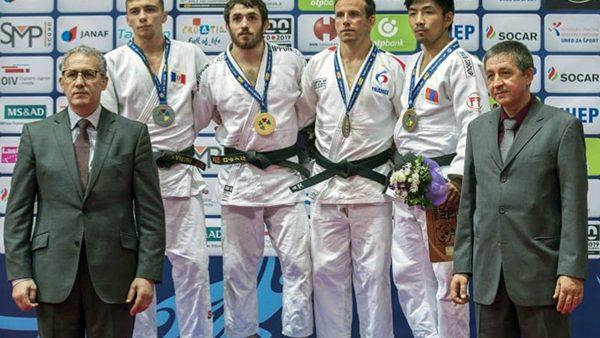 Judocanul Denis Vieru a câștigat argintul la Grand Prix-ul de la Zagreb