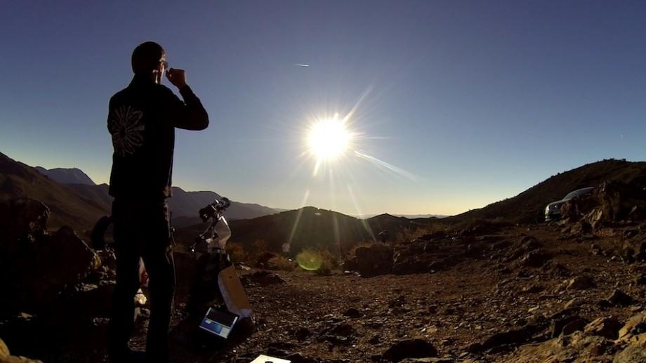 (foto) S-a dus până în Chile. Eclipsa totală de soare văzută prin obiectivul moldoveanului Alexandru Barbovschi