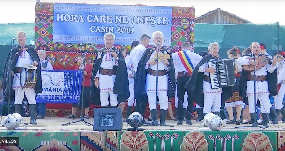 (foto, video) UTM a participat la Festivalul cântecului, dansului și portului popular de la Cașin