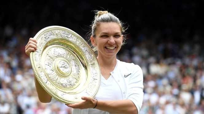 Simona Halep a fost desemnată jucătoarea lunii iulie, în ancheta realizată de WTA